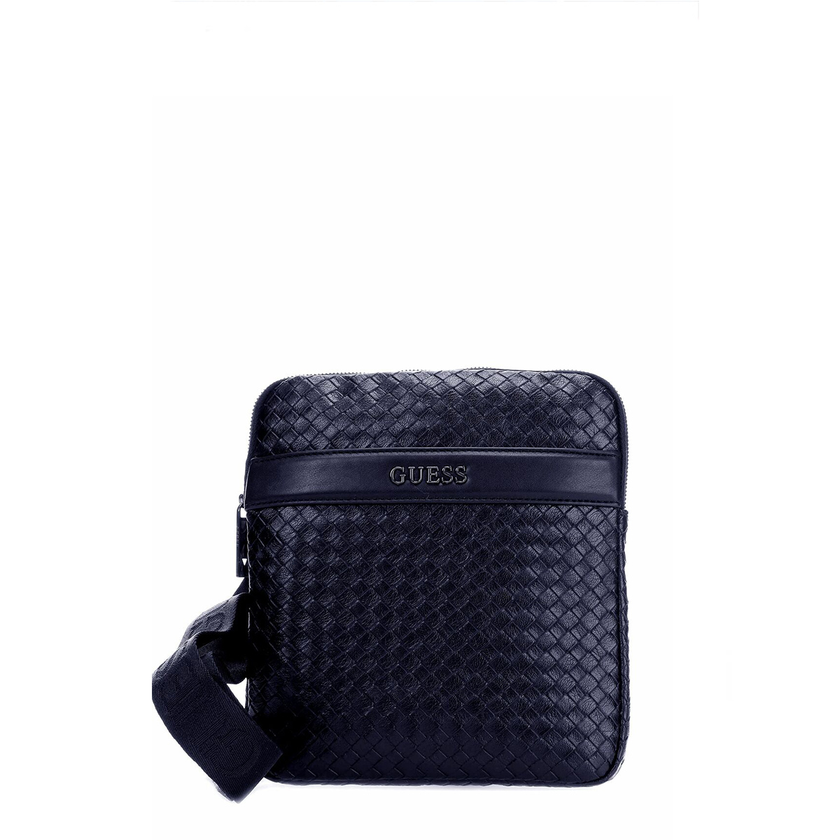 NEW MILANO MINI FLAT CROSSBODY BLU