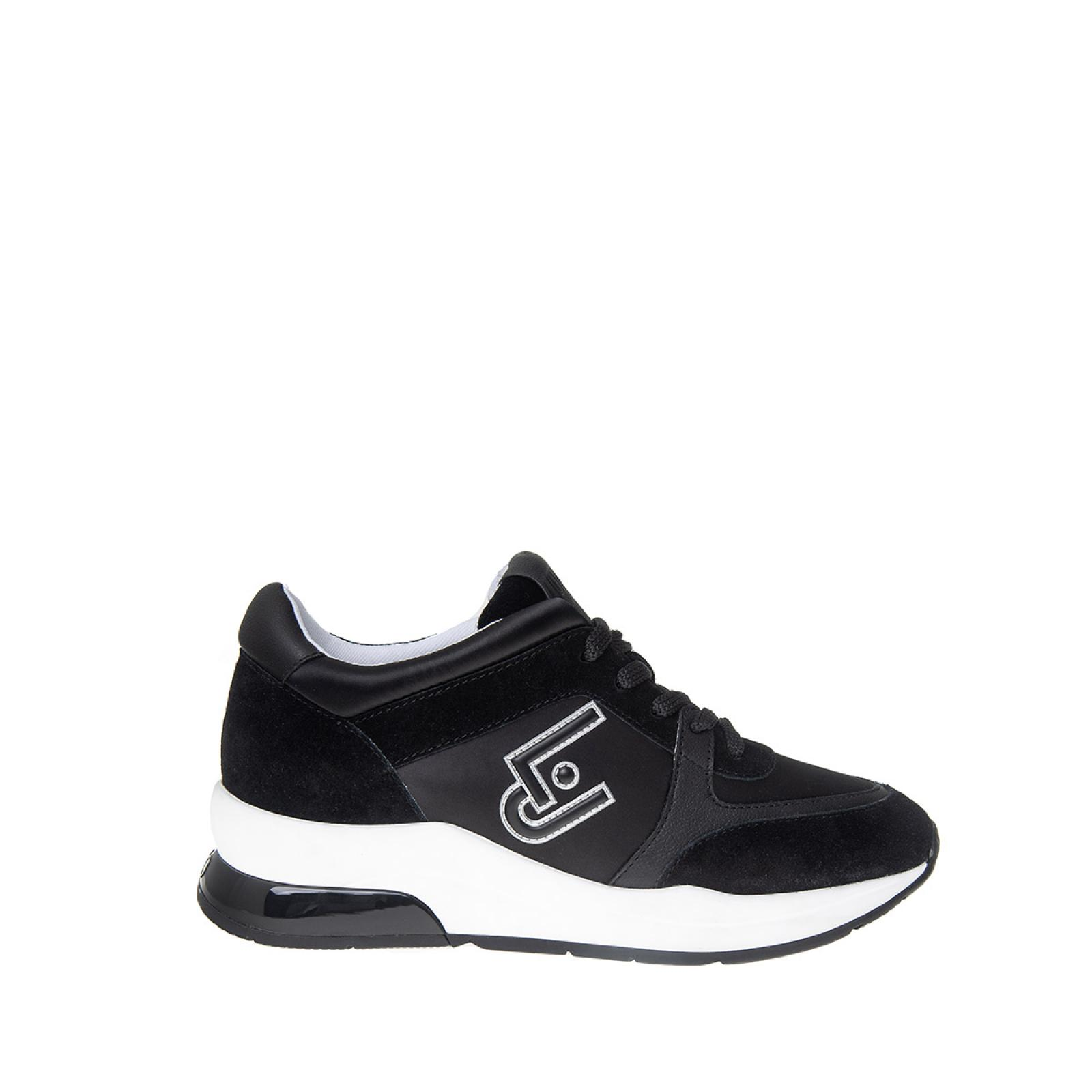 Sneakers Karlie con logo - BLACK