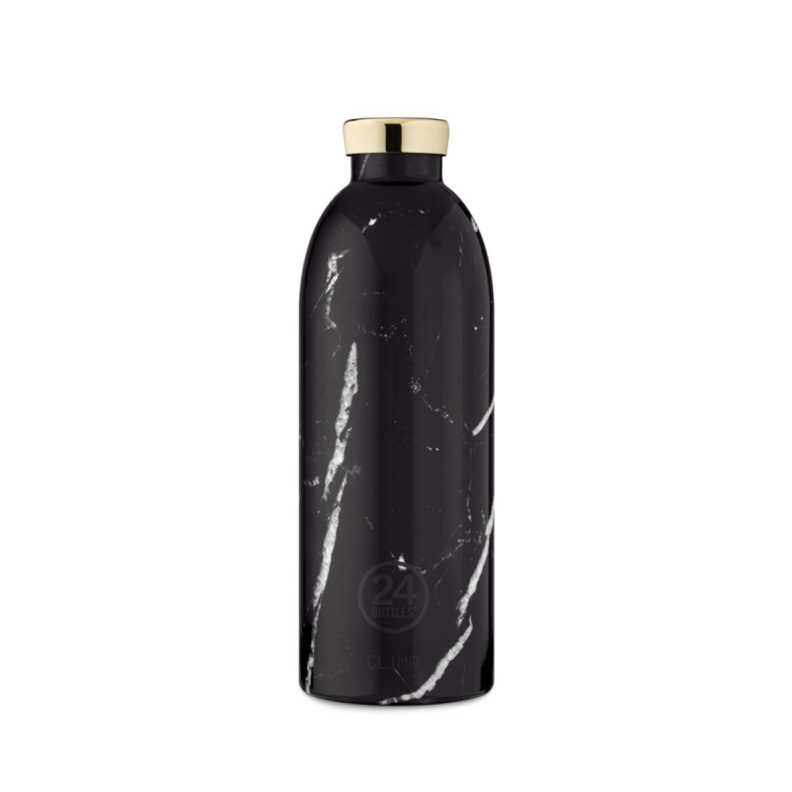24 Bottles Clima Bottle Marble Black 850 ml - 1