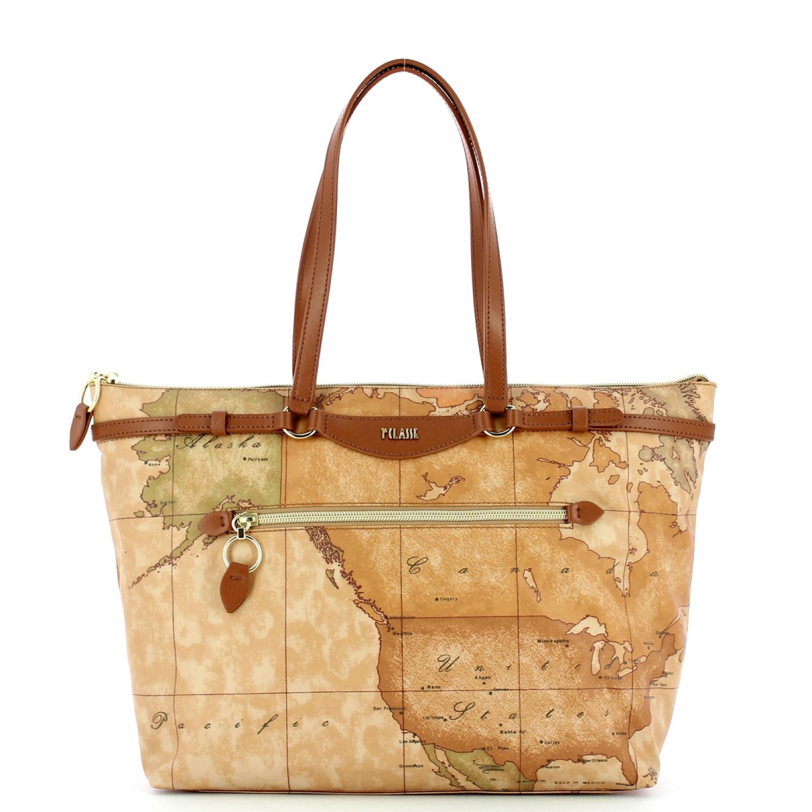 Alviero Martini 1a Classe Shopping Bag Geo Soft Liberty - 1