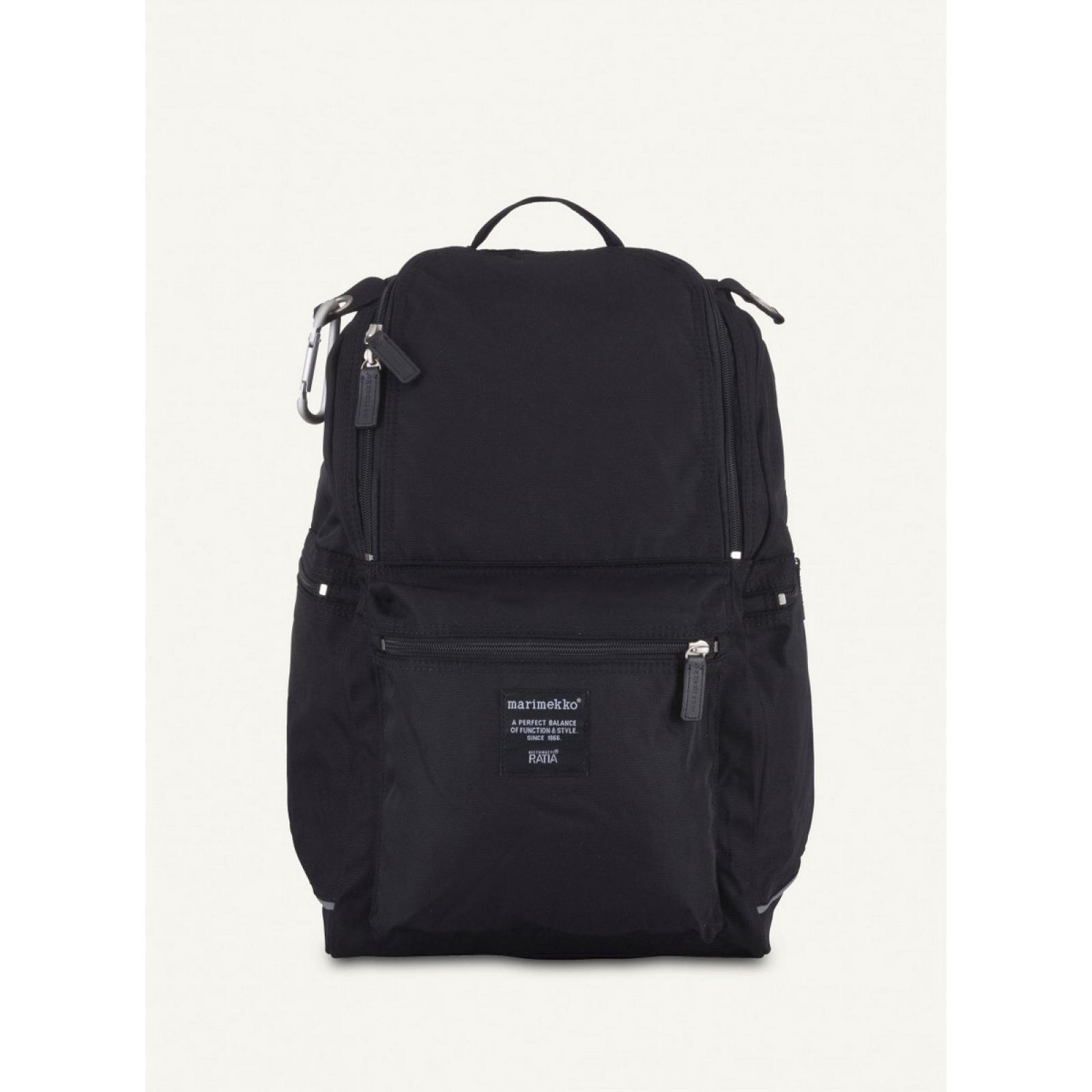 Buddy Backpack-BLACK-UN