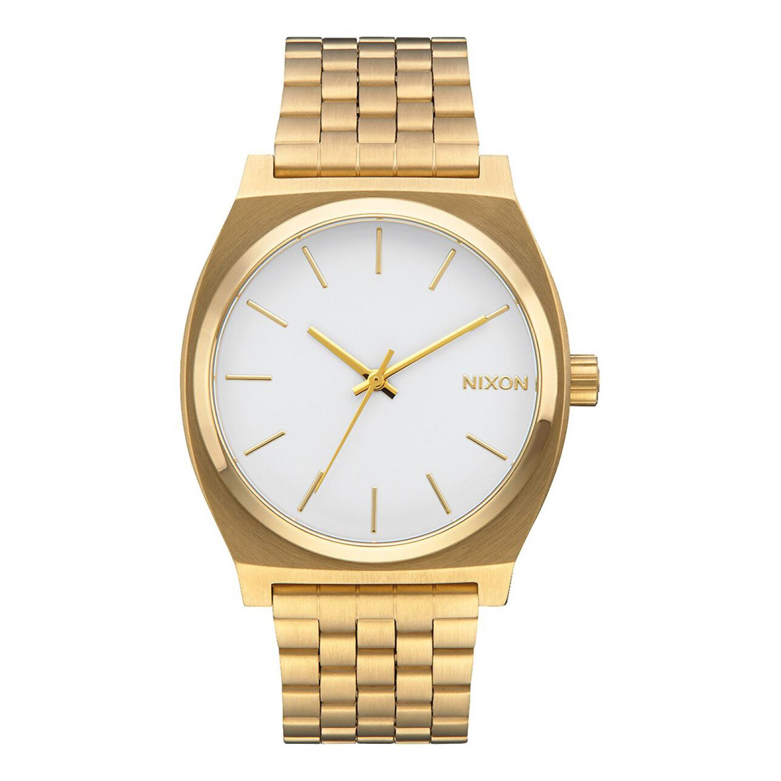NIXO Orologio Time Teller 37 mm Gold and White - 1