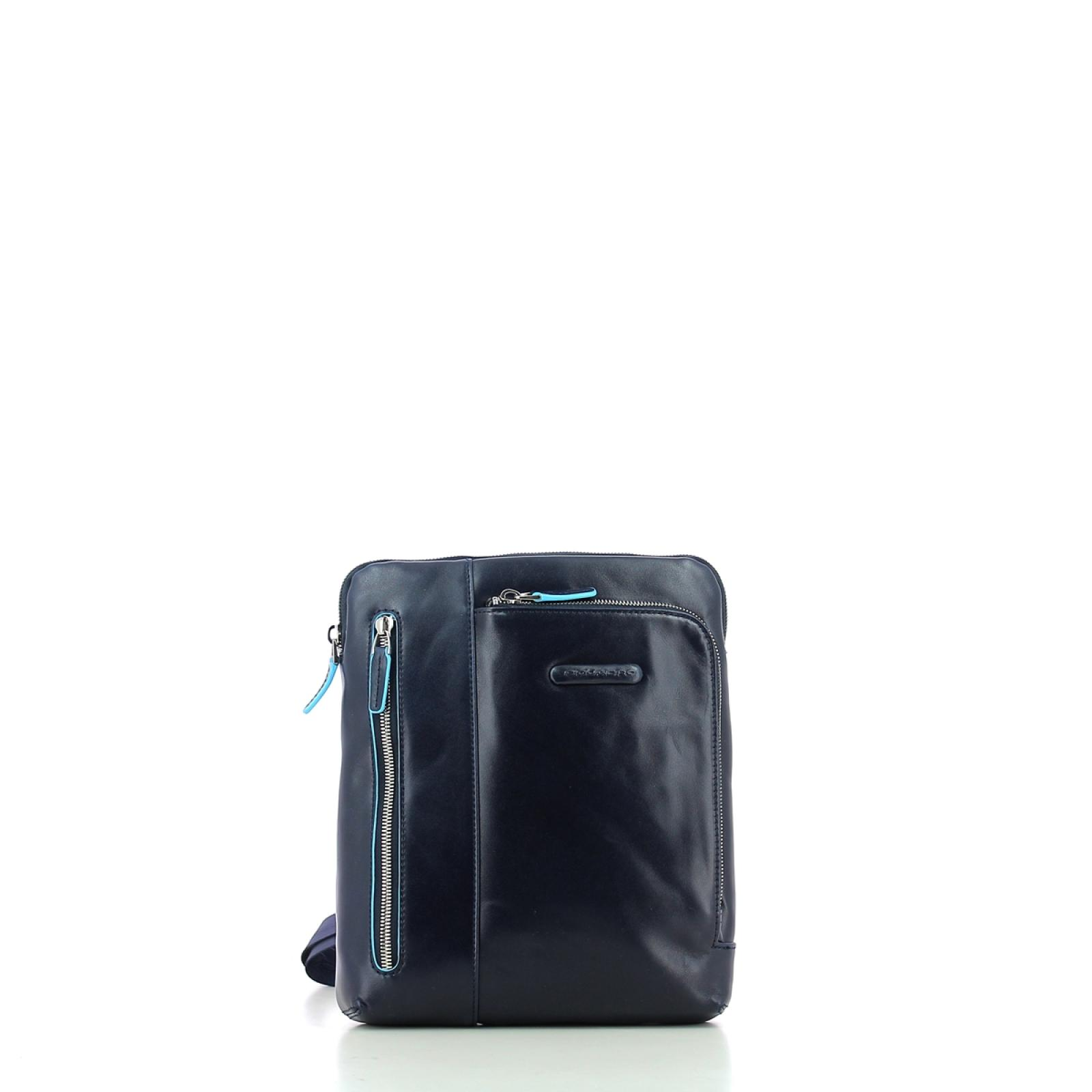 Organised Crossbody Bag Blue Square-BL2-UN