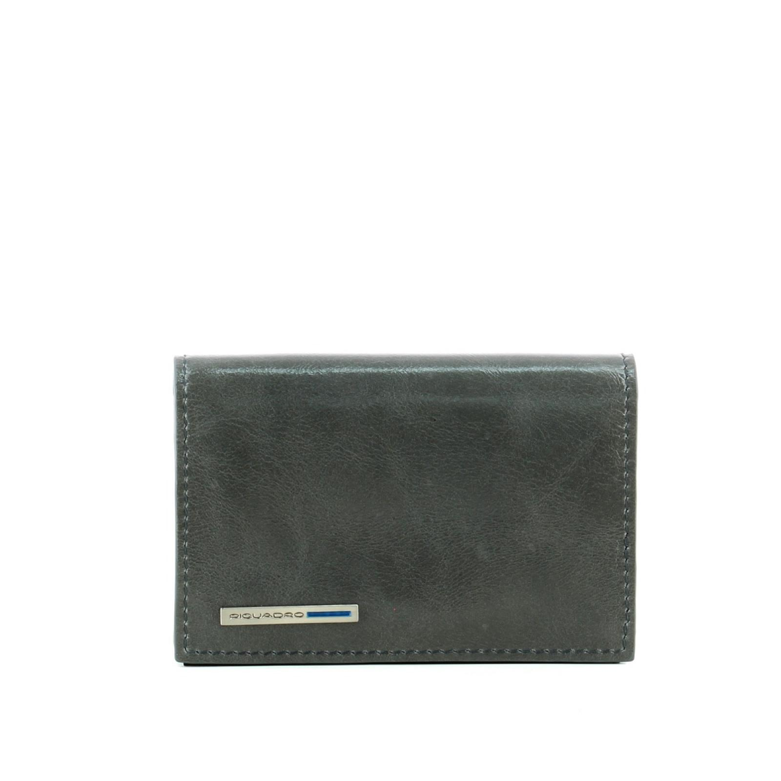 Card Holder Blue Square