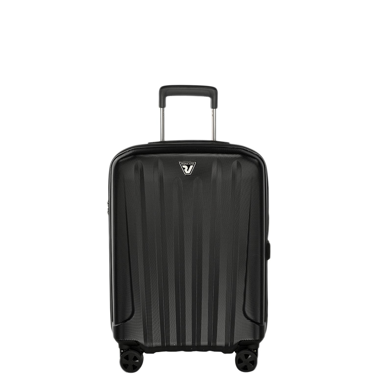 Cabin Case Unica Spinner 55 cm-NERO-UN