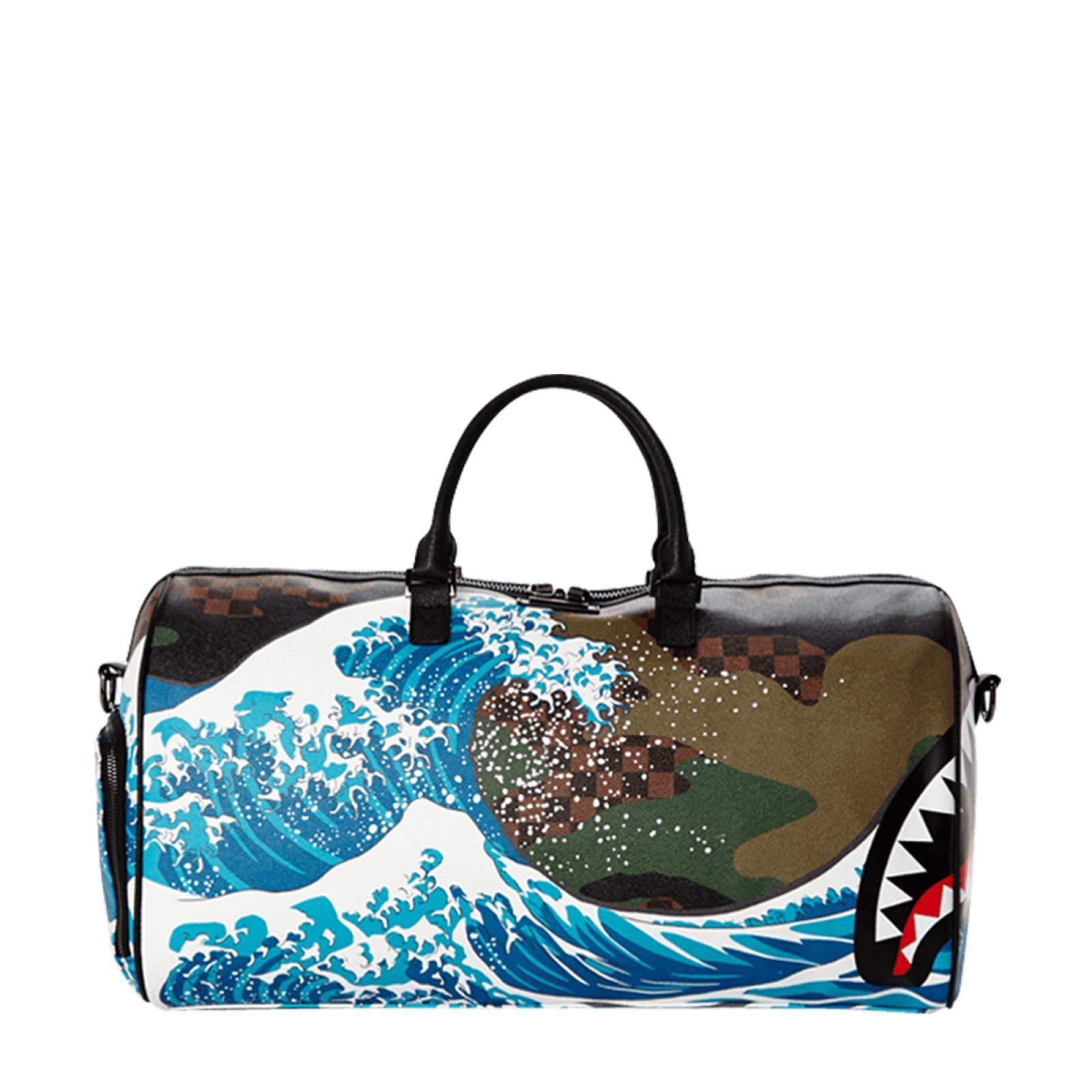 Sprayground Borsone Camowaka Wave Limited Edition - 1