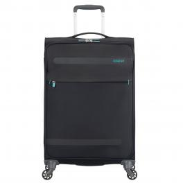 American Tourister Trolley Medio Superlight Herolite Spinner 67 cm - VOLC.BLACK