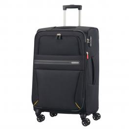 Trolley Medium Summer Voyager Spinner 68 cm - VOLT/BLACK