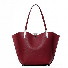 Guess Shopper Alby - STONE/CLARET