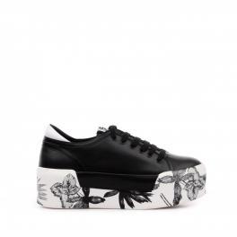 Sneakers Maxi con platform - BLACK