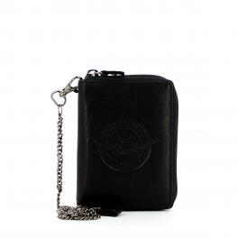 AEMI Biker wallet with coin pocket and chain - 1