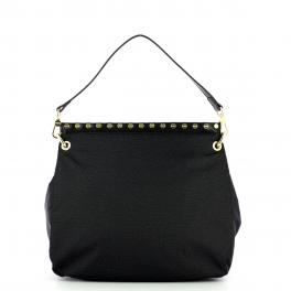 Borbonese Hobo Bag Medium Metro - 1