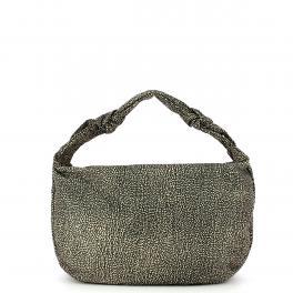 Borbonese Hobo Bag Medium Desert - 1