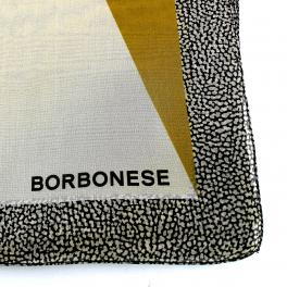 Borbonese Foulard con bordo OP 70x180 - 1