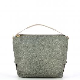 Borbonese Monospalla Hobo Bag Medium - 1