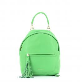 Leonie leather backpack-VERT-UN