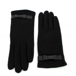 Wool gloves Valerie-NOIR-L