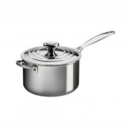 Signature Stainless Steel Saucepan with Lid 16 cm-UN-UN