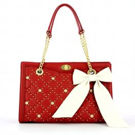 Guess Borsa a mano Sandy in pelle trapuntata - 1