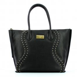 Guess Shopper in pelle Vicky con borchie - 1