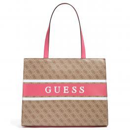 Guess Shopper Monique 4G Logo Latte Pink - 1