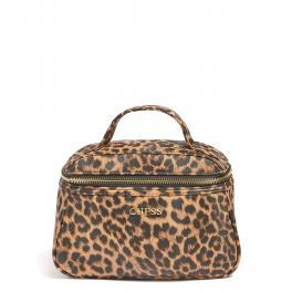 Guess Beauty Case Lalie Animalier Natural - 1