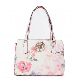 Guess Shopper Open Road Luxury Pink Floral - 1