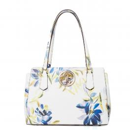Guess Shopper Open Road Luxury White Floral - 1