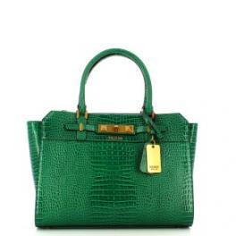 Guess Borsa a mano Raffie Cocco Green - 1