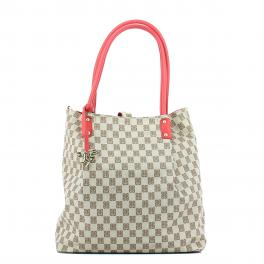 Reversible Hobo Bag Monogramma-ROSSO-UN