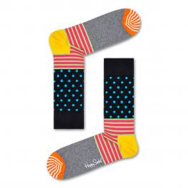 HAPP Calzini Stripe and Dote Sock - 1