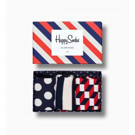 Happy Socks Stripe Gift Box 3-Pack - 1
