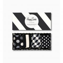 Happy Socks Classic Black And White Socks Gift Box 4-Pack - 1