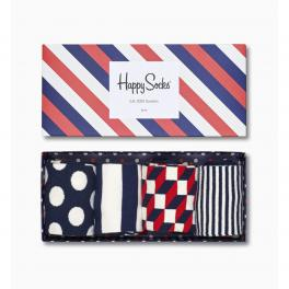 Happy Socks Stripe Gift Box 4-pack - 1