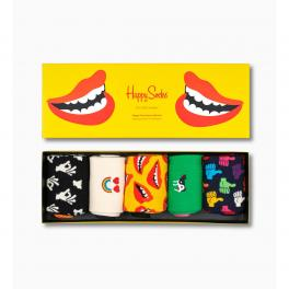 Happy Socks Don´t Worry, Be Happy Socks Gift Box 5-Pack - 1
