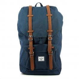 Herschel Little America Backpack 15.0 Navy Tan - 1