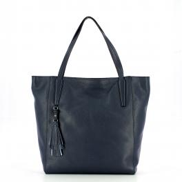 Iuntoo Shopper in pelle Armonia Blu -