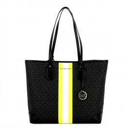 Michael Kors Eva Large Tote Bag con strisce - 1