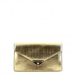 Michael Kors Pochette Grace Medium in pelle metallizzata - 1