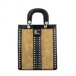 La Carrie Josephine Long Shopper in Suede - 1