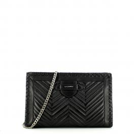 La Carrie Maxi Clutch Ophelia in pelle - 1