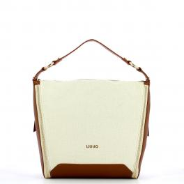 Liu Jo Hobo Bag M in Canvas - 1