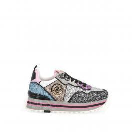 Liu Jo Sneakers Maxi Wonder con glitter - 1