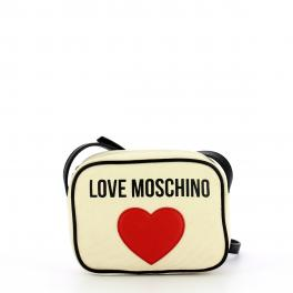 Love Moschino Tracollina canvas con cuore - 1