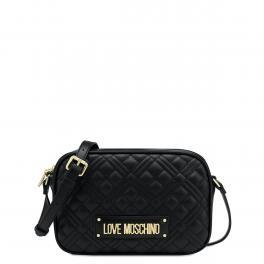 Love Moschino Camera Bag Shiny Quilted Nero - 1