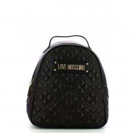 Love Moschino Zaino Shiny Quilted Nero - 1
