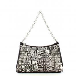 Love Moschino Borsa a spalla Allover Logo Nero - 1