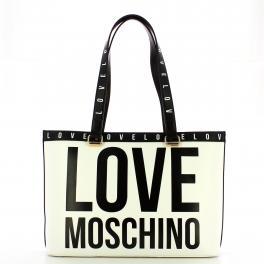 Love Moschino Borsa a spalla logata Bianco - 1