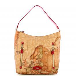 Alviero Martini 1a Classe Hobo Bag Fairy Soft Rosso Scarlatto - 1