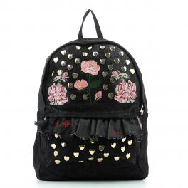 Backpack Rouches-NERO-UN